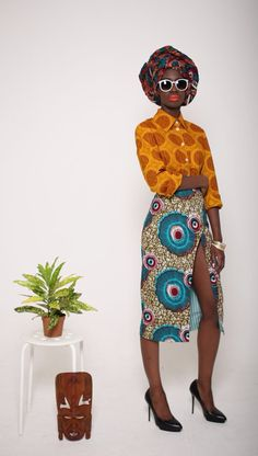 ♥African Fashion by Mazel John