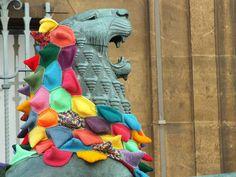 Colourful Lion by heffalump347, via Flickr