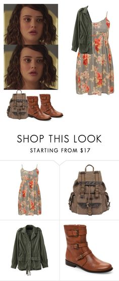"""""""Hannah Baker summer outfit - 13 reasons why / 13rw"""" by shadyannon ❤ liked on Polyvore featuring Wilsons Leather and Corso Como"""