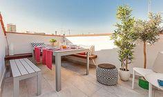 Terraza - Piso en alquiler en calle Marqués Viudo de Pontejos, Cortes-Huertas en Madrid - 321211166