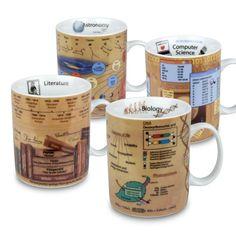 Konitz Science Mugs, Assorted  OBJEKT REGALOS PUCON CHILE  DISEÑO
