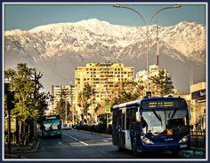 John Bankson does a photowalk through Ñuñoa, Santiago, Chile