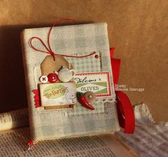 tea party scrapbooking journal- yes Mel- we will have another tea party!!!!