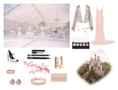 """""""Senza titolo #38"""" by amby-123 ❤ liked on Polyvore featuring Monique Lhuillier, Casadei, Valextra, FOSSIL, Michael Kors, Anne Klein, STELLA McCARTNEY, Yves Saint Laurent, Chanel and L.A. Colors"""