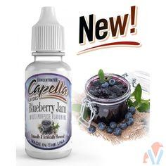Capella Flavor Drops Blueberry Jam Concentrate 13 ml blueberry beverage sweetener ice tea sweetener List Of Flavors, Amazon Auto, Diy E Liquid, Flavor Drops, Low Calorie Drinks, E Liquid Flavors, Shake Diet, Blueberry Jam, Vegan Friendly