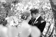 <3 - Haley & Riley | Backyard Summer Wedding At Home by  Simply Jessie Photography - via Snippet & Ink