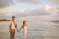 hard rock punta cana wedding. {isabella + luke} intimate portraits. trash the dress.