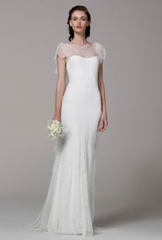 Brides: Lace Wedding Dresses from Spring 2013 | Wedding Dresses | Brides.com