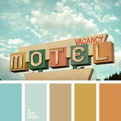 Resultado de imagem para 1960 color schemes