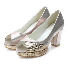Easy Street Womens Incredible Closed Toe Silver Satin/Metallic Size 8.0 eCOJ