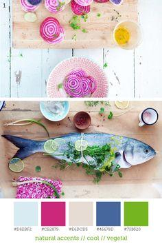natural accents // cool // vegetal