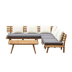 whkmp's own loungeset Kyoto Kyoto, Outdoor Sectional, Sectional Sofa, Outdoor Furniture, Outdoor Decor, Interior Inspiration, Acacia, Backyard, House