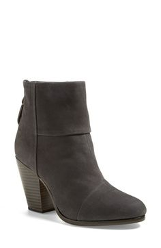 rag & bone 'Classic Newbury' Nubuck Leather Boot (Women) available at #Nordstrom