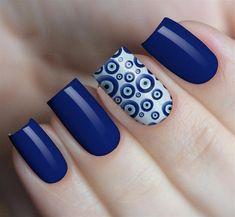 Turkish eye nail stickers - Source by Pretty Nail Colors, Pretty Nails, Cute Acrylic Nails, Acrylic Nail Designs, Nagellack Design, Nail Art Designs Videos, Dot Nail Art, Nails Only, Trendy Nail Art