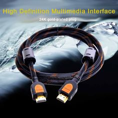 Crazygo 1.5M HDMI Cable Video Cables Gold Plated Connection Hdmi Splitter 1.3 1080p 3D Cable For PC HD TV Laptop