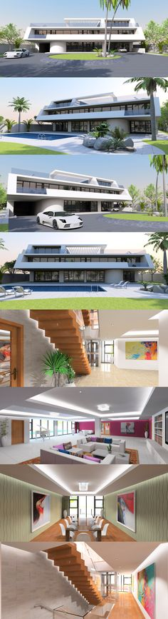 Contemporary house plan designs for the self-builder. We offer totally unique and inspiring modern designs for stunning new contemporary residences, to give your dream home the best possible start. Home Design Plans, Plan Design, Home Theater, Theatre, Terrace Floor, Bedroom Suites, Contemporary House Plans, Garage Gym, Second Floor
