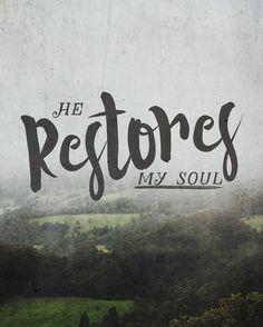 """He restores my soul: He leads me in the paths of righteousness for his name's sake."" Psalm 23:3 #missions #YWAM #biblestudy #verseoftheday #Jesus #knowGod #go #restoration #righteousness #ywamwollongong #Australia by ywamwollongong http://bit.ly/dtskyiv #ywamkyiv #ywam #mission #missiontrip #outreach"