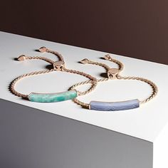 Precision cuts and flush settings define new Linear Stone, inspired by 'Pietra Dura', the ancient technic of inlay.  Shop #MonicaVinader though the link in our bio.