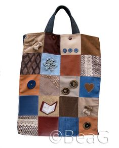 My new Shopping Bag (Mijn nieuwe Boodschappentas) by Made by BeaG, via Flickr