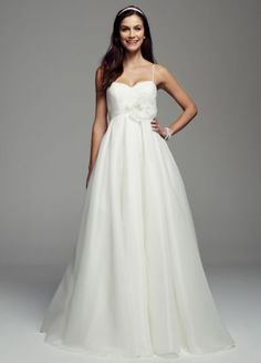 Timeless elegant and chic you will look amazing in this for Wedding dress cleaned and boxed