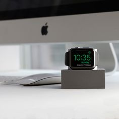 Showcase the beautiful design of your Apple Watch with the DOCK from Native Union. Boasting a sleek design, this dock is perfect for charging and keeping your Apple Watch safe whilst not in use. Compa