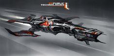 Modelagem 3D de uma nave para um jogo de corrida?