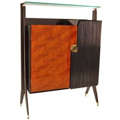 Cabinet  Dassi Mobili Moderni, Lissone  | From a unique collection of antique and modern cabinets at https://www.1stdibs.com/furniture/storage-case-pieces/cabinets/