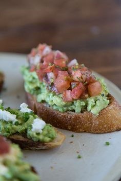 Pico de Gallo Avocado Toast: prep your favorite salsa recipe, then toss a dollop on top. It doesn't get much easier (or fresher tasting) than that.