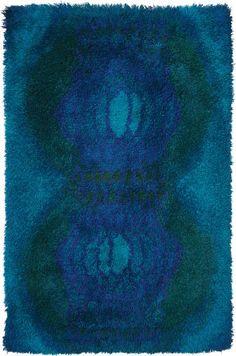 Terttu Tomero: Wool 'Katiska' Rug for Neovius, 1960s.