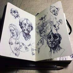 Marco Mazzoni doodles