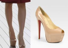 "Han Ye-Seul 한예슬 in ""Birth of a Beauty"" Episode 1. Christian Louboutin Highness Patent Leather Platform Pumps #Kdrama #BirthOfABeauty 미녀의 탄생 #HanYeSeul"