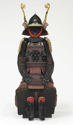 A purple laced Okegawa Torikoshi Do Gusoku Armor. Edo Period.