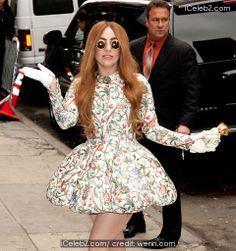 Lady Gaga with many wardrobe changes for MTV interview at NYC Roseland  http://www.icelebz.com/events/lady_gaga_with_many_wardrobe_changes_for_mtv_interview_at_nyc_roseland/photo2.html