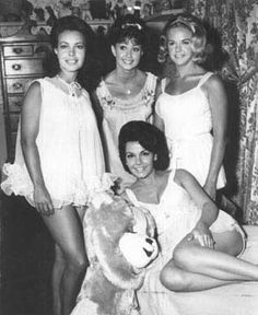 Baby Doll PJs -- this is Annette in a pub photo from the 1964 film Pajama Party