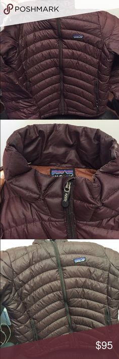 Women's Brown Down Patagonia Puffer Jacket Patagonia Down Sweater. Great condition. Patagonia Jackets & Coats Puffers