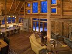 This amazing barn is situated next to Lake Superior.