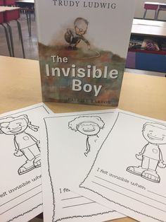 Have you ever read The Invisible Boy by Trudy Ludwig? It is a heartwarming picture book about the power of kindness. Kindness Activities, Counseling Activities, Kindergarten Activities, Career Counseling, Emotional Books, Social Emotional Learning, Elementary School Counseling, School Counselor, Elementary Schools