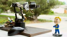 Controlling Robotic Arm with Arduino and USB Mouse