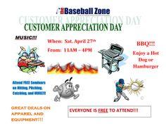 Customer Appreciation Day 2013 | The Baseball Zone http://blog.thebaseballzone.ca/customer-appreciation-day-2013?=4884