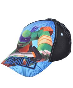 "Teenage Mutant Ninja Turtles ""Leonardo"" Snapback Cap (Youth One Size) $5.99 Teenage Mutant Ninja Turtles fans can amp up their look with this action-packed snapback cap."