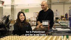 Isso é o que acontece quando Palestinos e Israelenses tentam trabalhar juntos...