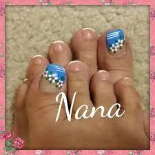 Resultado de imagen para uñas decoradas de los pies CON FLORES Manicure Y Pedicure, Mani Pedi, Summer Toe Nails, Toe Nail Designs, Toe Nail Art, Have Some Fun, Hair And Nails, Beauty, Veronica