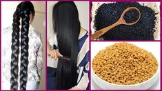 Today I will share recipe of an amazing hair oil that will really boost your hair growth and length will increase super fast To prepare this hair oil you will need Black cumin seeds Fenugreek seeds Coconut oil Castor oil Preparation Take 2 spoon of kalonj Hair Remedies For Growth, Hair Growth Treatment, Hair Growth Tips, Hair Treatments, Healthy Hair Growth, Oil For Curly Hair, Hair Oil, Fenugreek For Hair, Thicken Hair Naturally