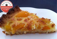 La tarte coco-abricot de Freia