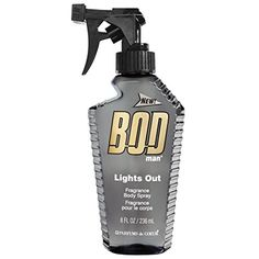 BOD Man Fragrance Body Spray, Lights Out, 8 Fluid Ounce -- Check out this great product. (This is an affiliate link) #Fragrance