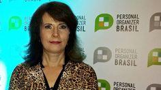 Sonia Hecher na recepção do Personal Organizer Brasil
