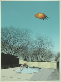 The 'Breaking Bad' Art Project  Artist: Justin Santora  Title: Flight 515