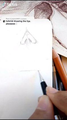 Art Drawings Sketches Simple, Pencil Art Drawings, Realistic Drawings, Easy Drawings, Art Drawings Beautiful, Drawing Techniques, Art Sketchbook, Art Tutorials, Art Lessons