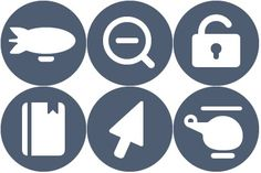 Free Icons: Iconset: Beautiful Flat Mono Color Icons by Elegantthemes | Arrows | Elegantthemes
