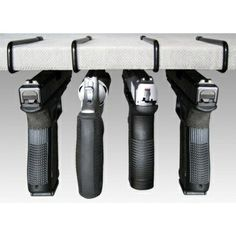 Great Gun Storage Solutions Pack of 4 Original Handgun Hangers by A.C. Kerman, Inc, http://www.amazon.com/... - Helle knives